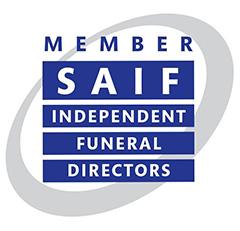 SAIF Member - Independent Funeral Directors Logo