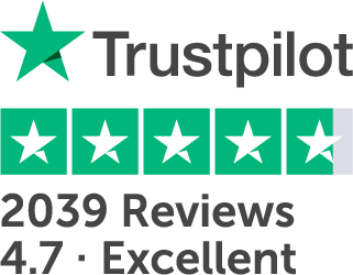 Golden Charter is rated excellent on Trustpilot with 4.7 out of 5 from 2036 reviews